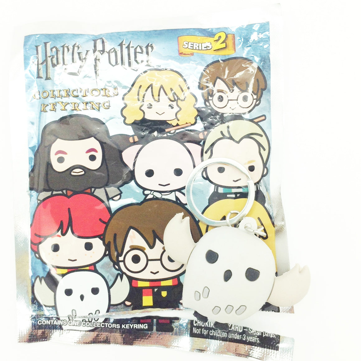 Harry Potter Series 2 Collector Keyring - Hedwig