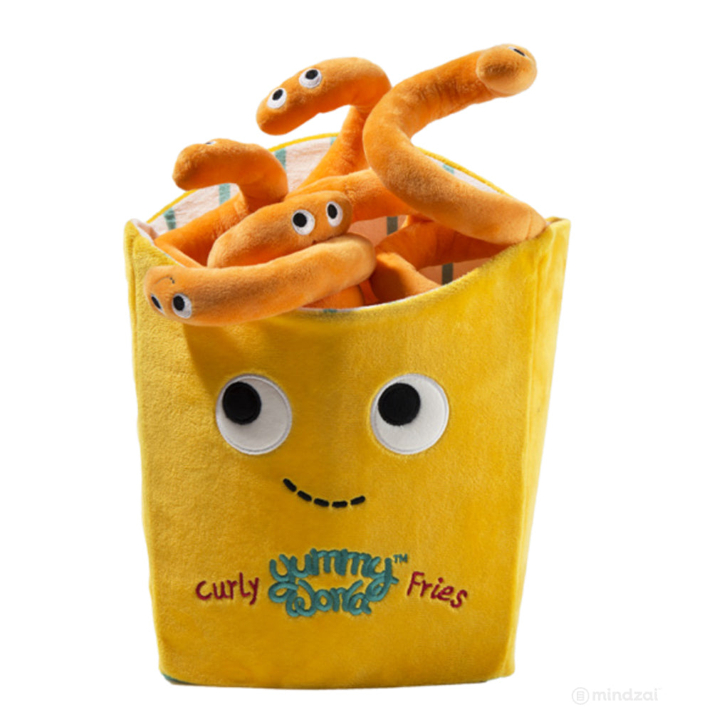 Yummy World Hurley Curly Fries 16-inch Plush Toy - Special Order