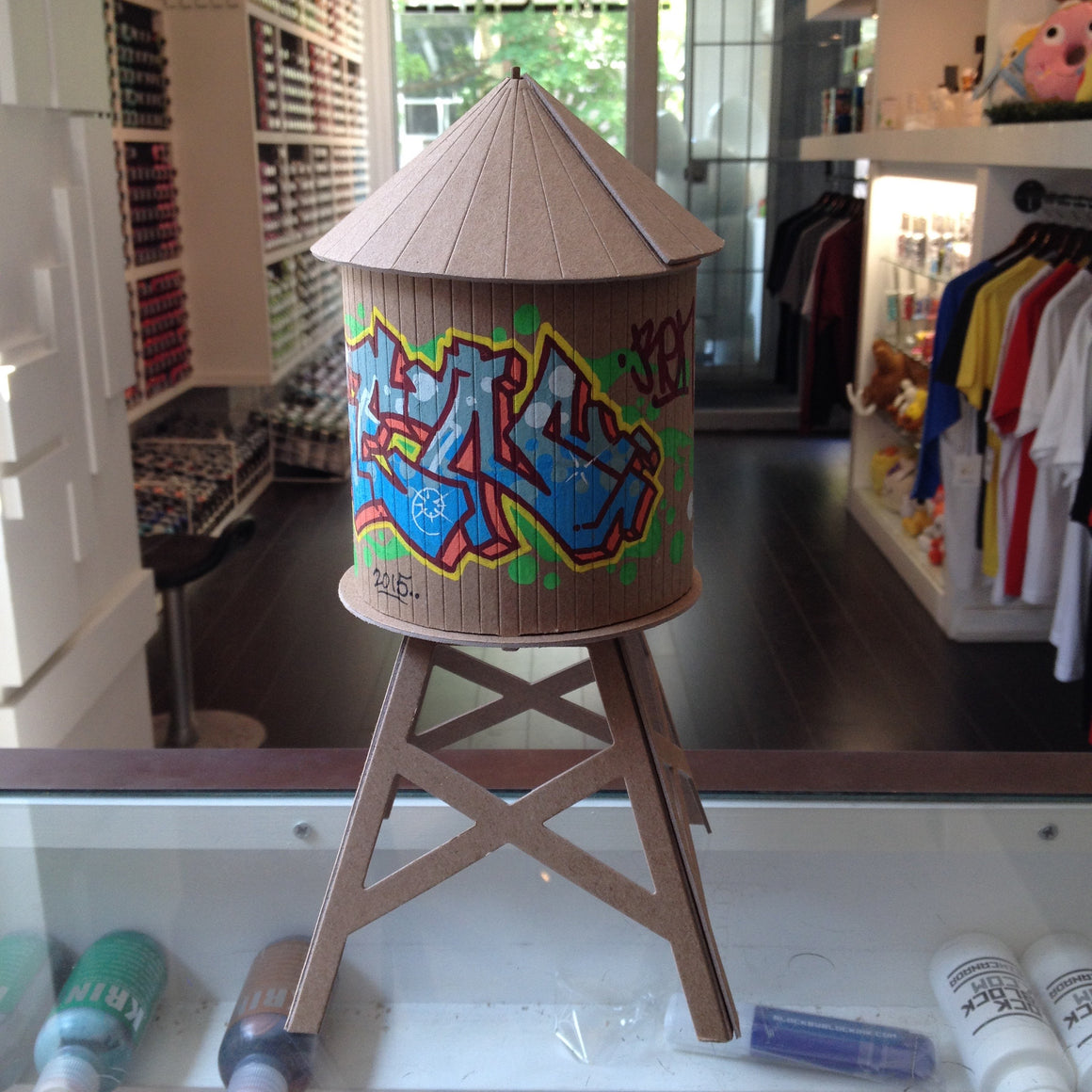 Ren Custom Boundless Brooklyn Water Tower - Mindzai  - 1