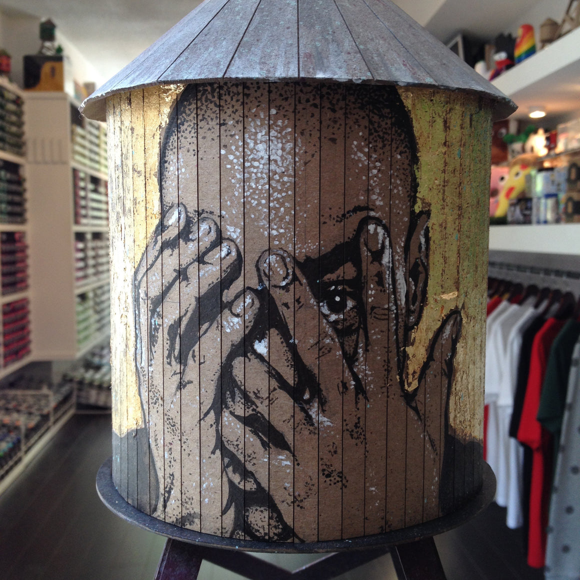 Kevin Ledo Custom Boundless Brooklyn Water Tower - Mindzai  - 1