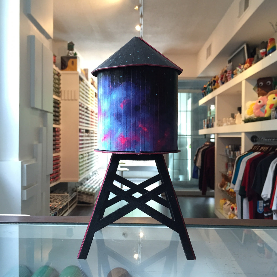 Megan Ellen MacDonald Custom Boundless Brooklyn Water Tower - Mindzai  - 1