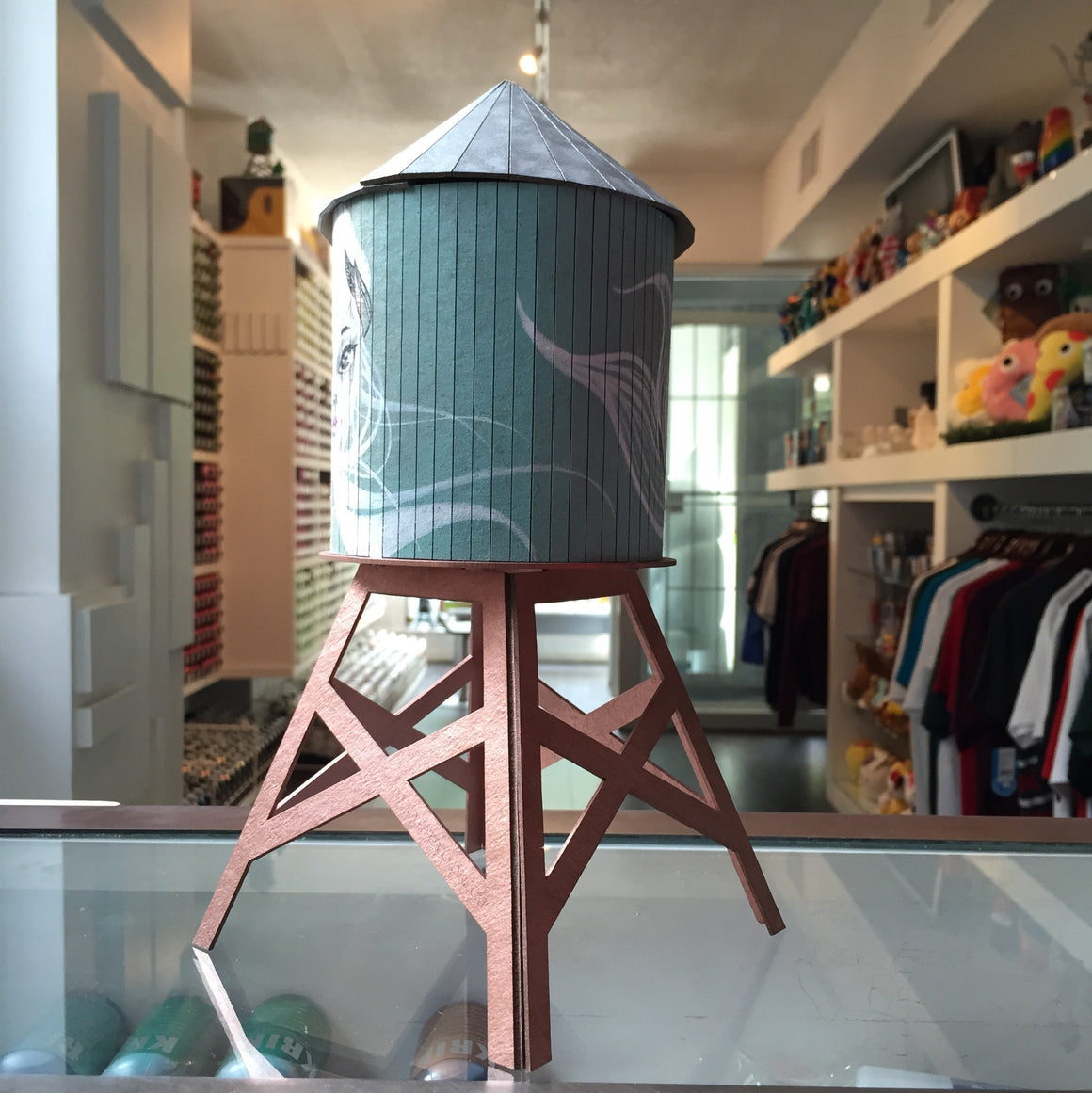 Yuhmi Collective Custom Boundless Brooklyn Water Tower - Mindzai  - 1