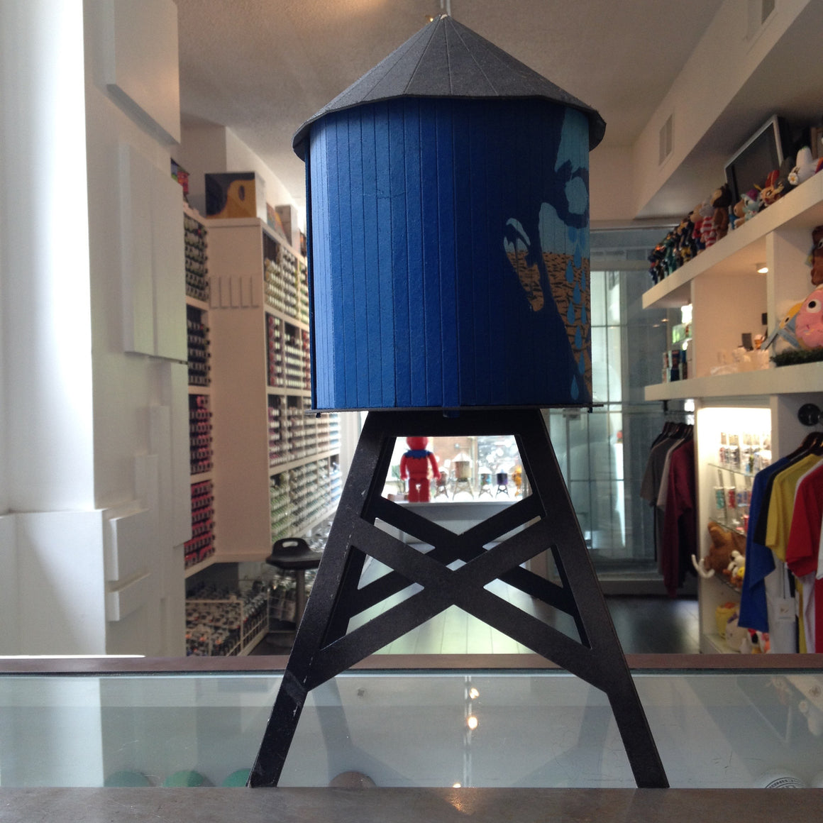 Icy and Sot Custom Boundless Brooklyn Water Tower - Mindzai  - 1