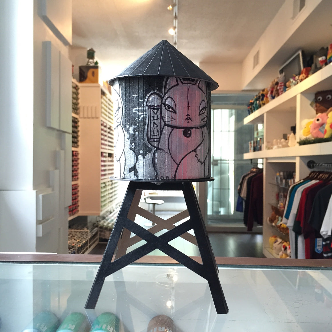 Vuducatz Custom Boundless Brooklyn Water Tower - Mindzai  - 1