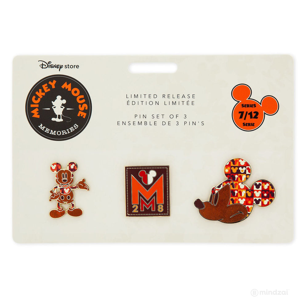 Mickey Mouse Memories Pin Set - July (Limited Edition)