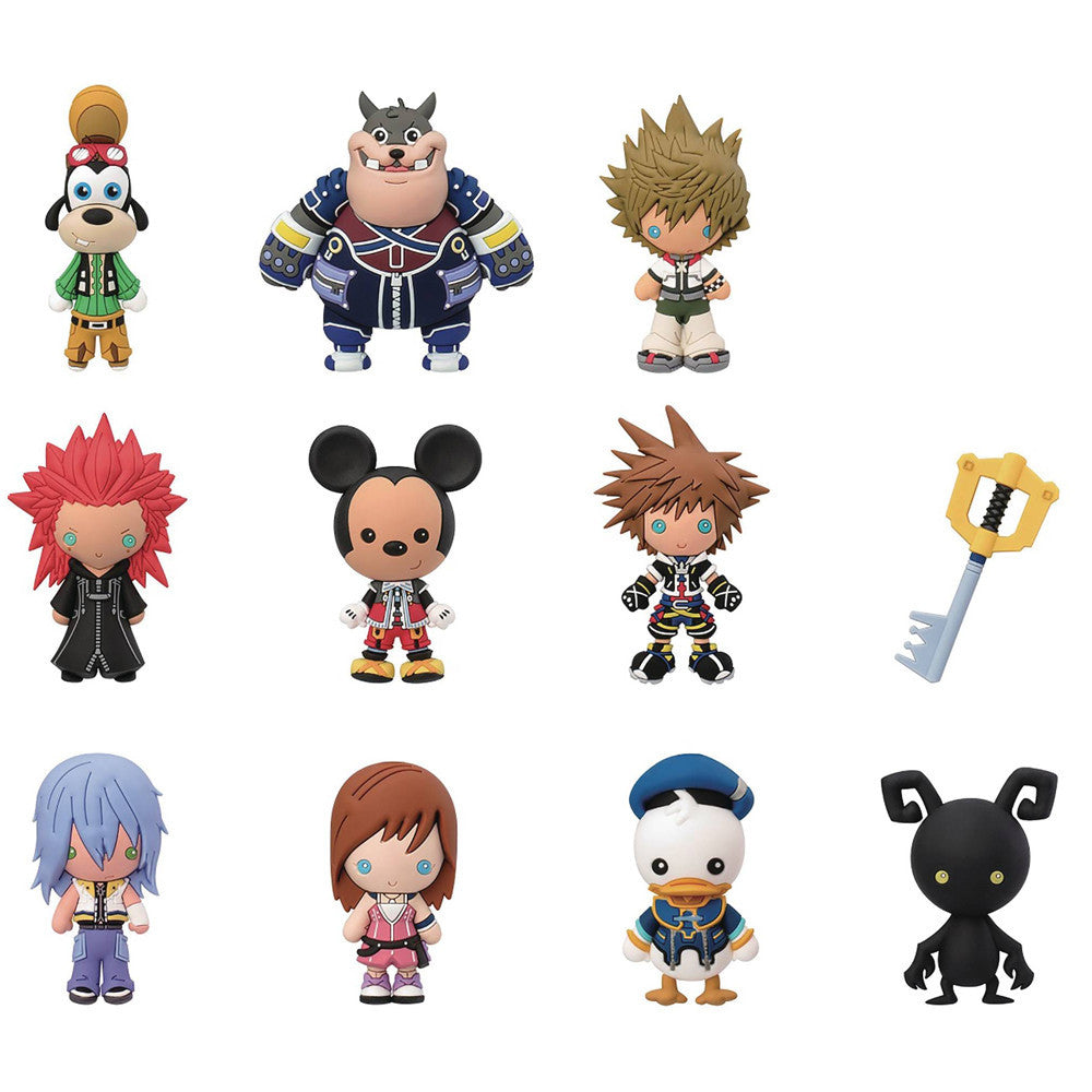 Kingdom Hearts Figural Keyring Blind Bag - Mindzai  - 1