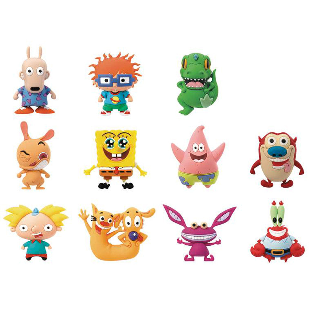 Nickolodeon Collectors Keyring Blind Bag