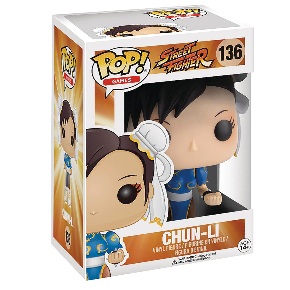 Street Fighter Chun Li POP Vinyl Figure