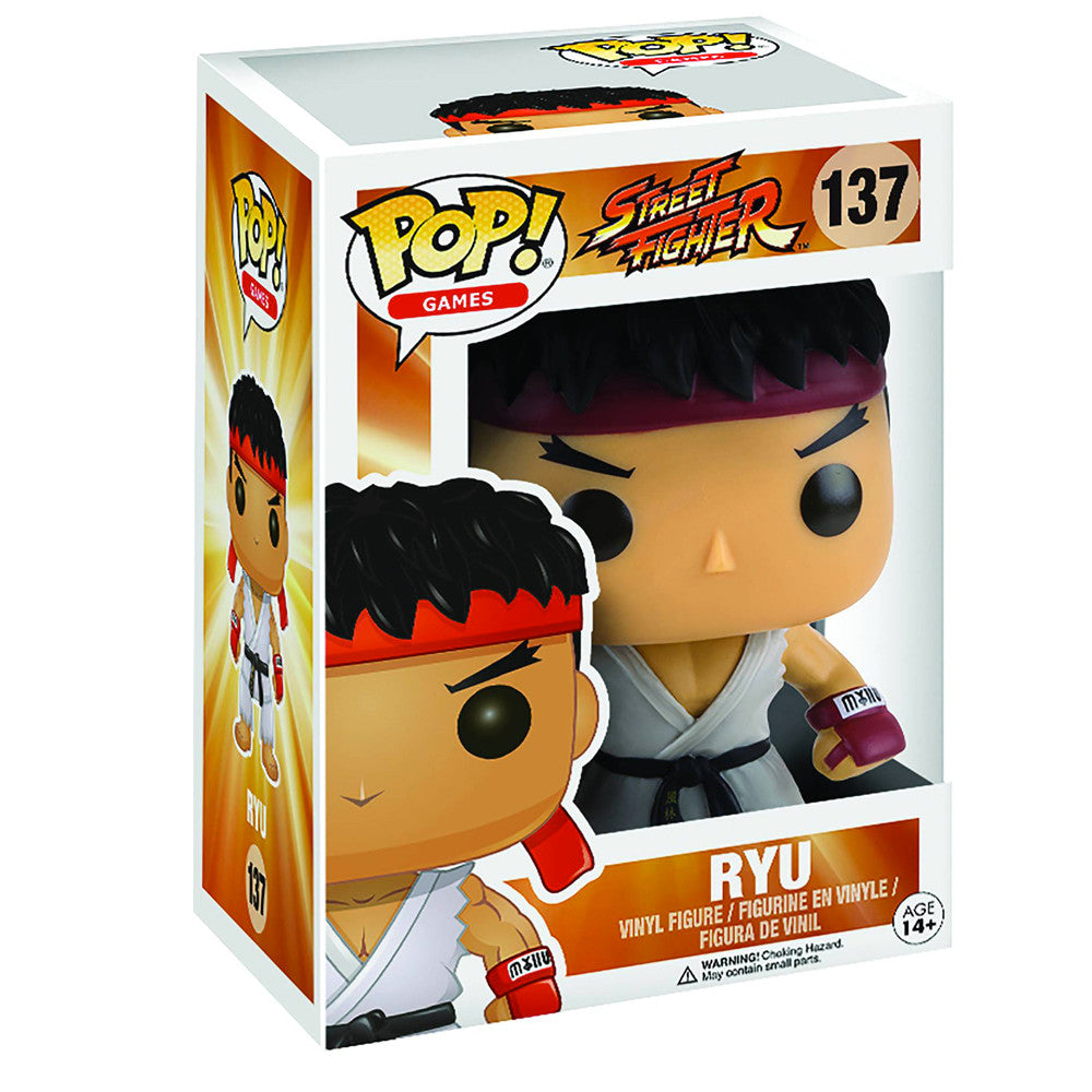 Street Fighter Ryu POP Vinyl Figure