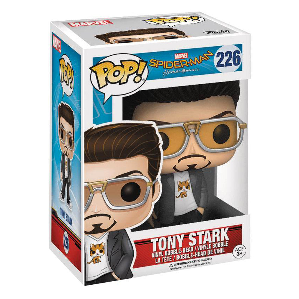 Spiderman: Homecoming Tony Stark Pop Vinyl Figure - Pre-order