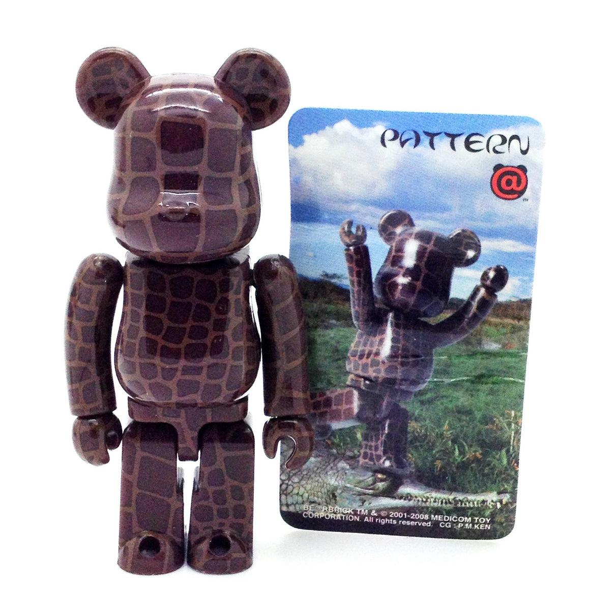 Bearbrick Series 16 - Pattern - Mindzai  - 1
