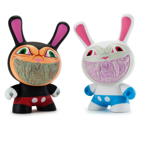 Apocalypse Grin 8 inch Dunny by Ron English x Kidrobot - Special Order - Mindzai  - 1