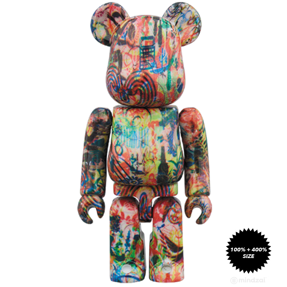 Ryan McGuiness 100% + 400% Bearbrick Set by Medicom Toy