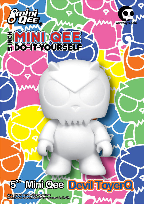 "DIY 5"" Mini Qee Devil Toyer - Mindzai"