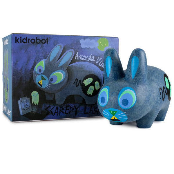 Scaredy Labbit by Amanda Visell x Kidrobot - Special Order - Mindzai