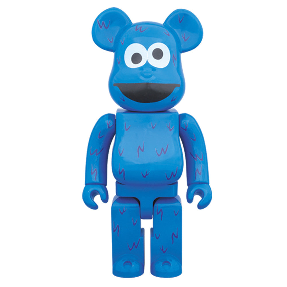 Sesame Street Cookie Monster 400% Bearbrick - Mindzai