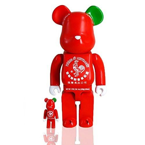 Sketracha Bearbrick 100% and 400% by Sket One x BAIT