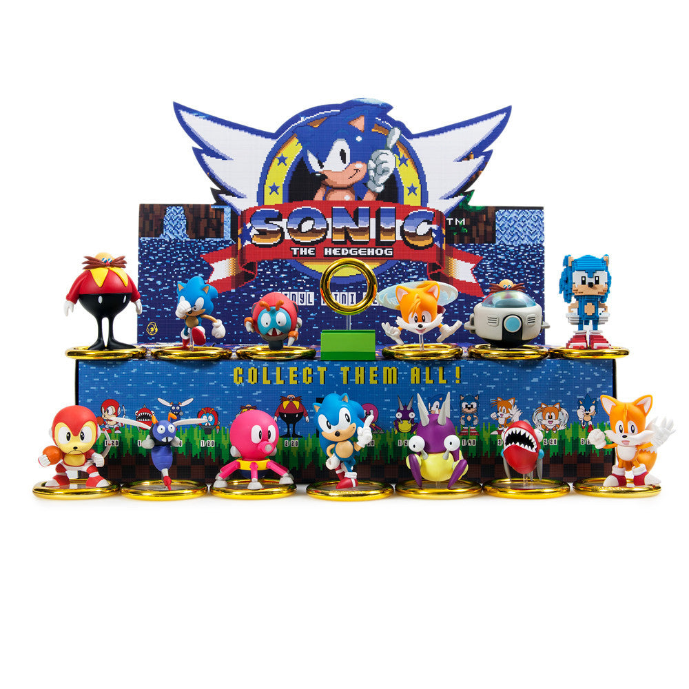 Sonic The Hedgehog Mini Series Blind Box by Kidrobot - Mindzai  - 1