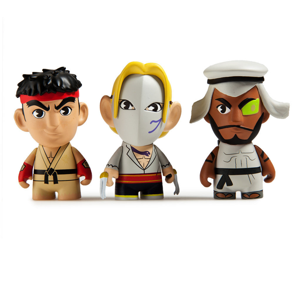 Street Fighter V Blind Box Mini Series By Kidrobot x Capcom - Mindzai  - 1