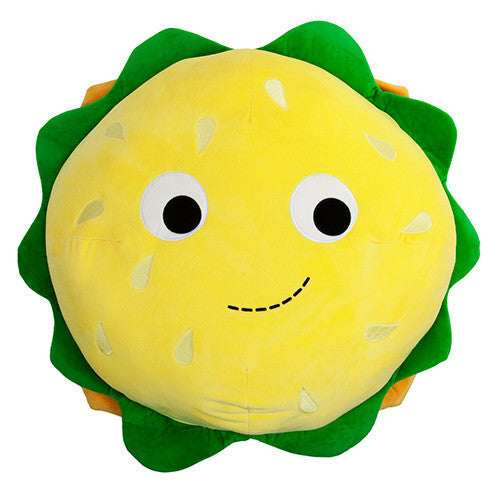 "Yummy World Cheeseburger 24"" Plush by Heidi Kenney x Kidrobot - Mindzai  - 1"