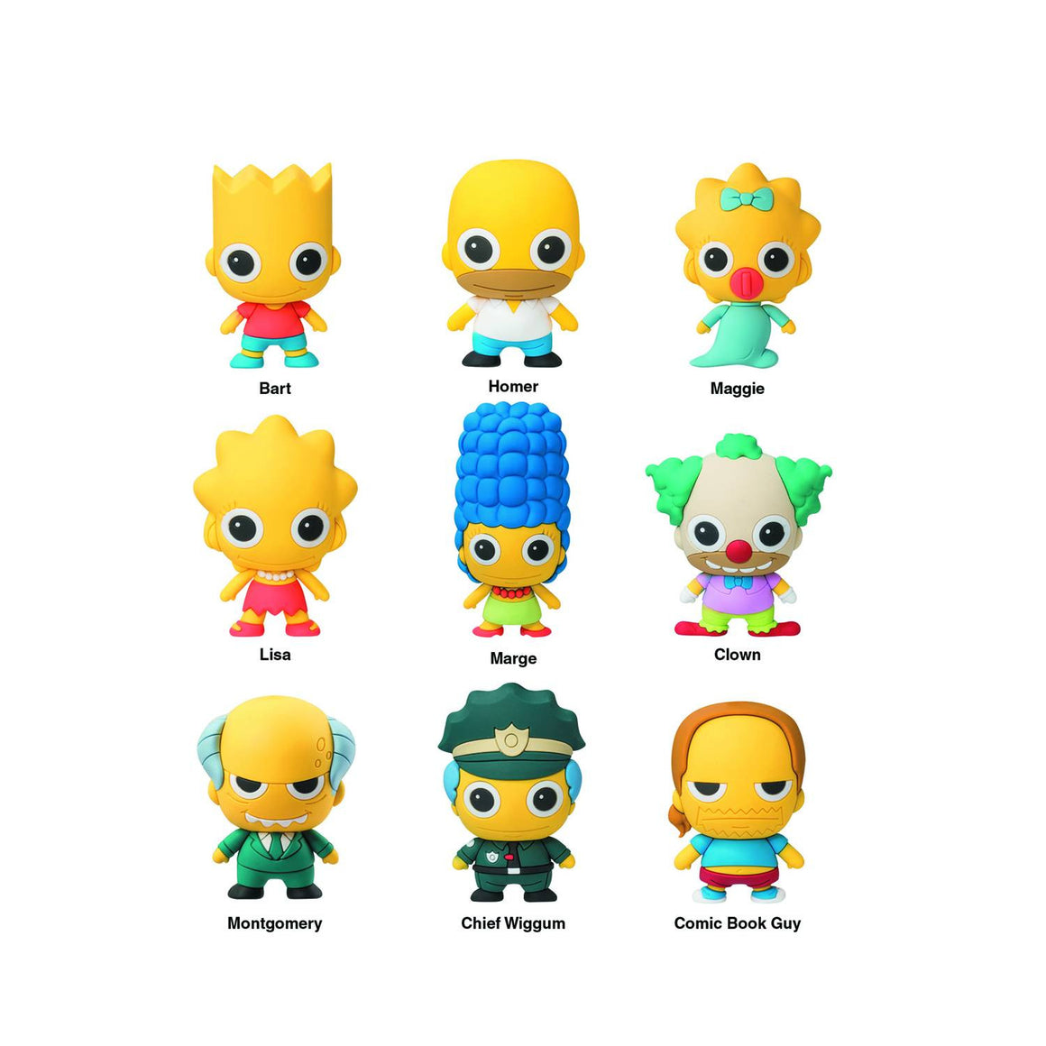 The Simpsons Figural Keyring Blind Bag - Mindzai  - 1
