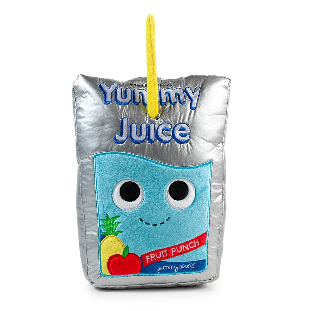 Yummy World Jake the Juice Pouch Medium Plush by Kidrobot - Special Order