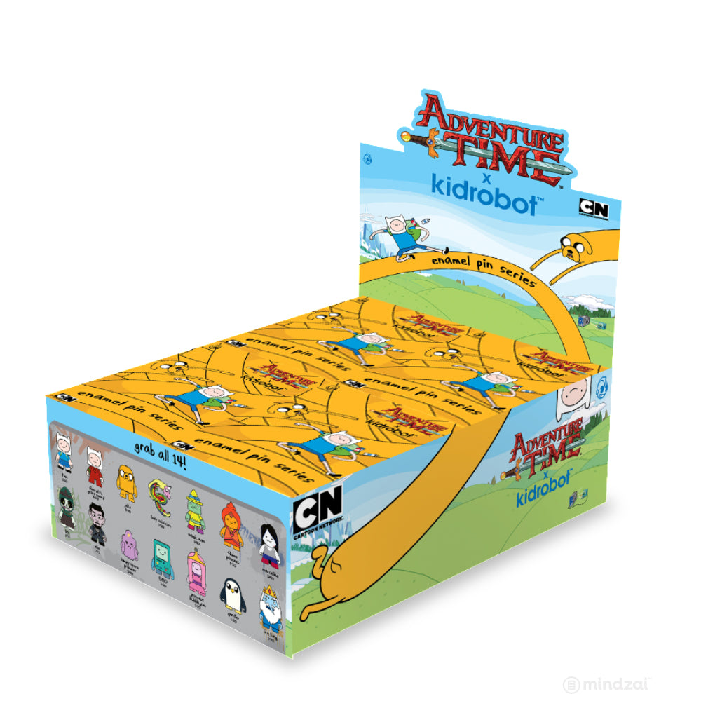 Adventure Time Enamel Blind Box Pin Series by Kidrobot