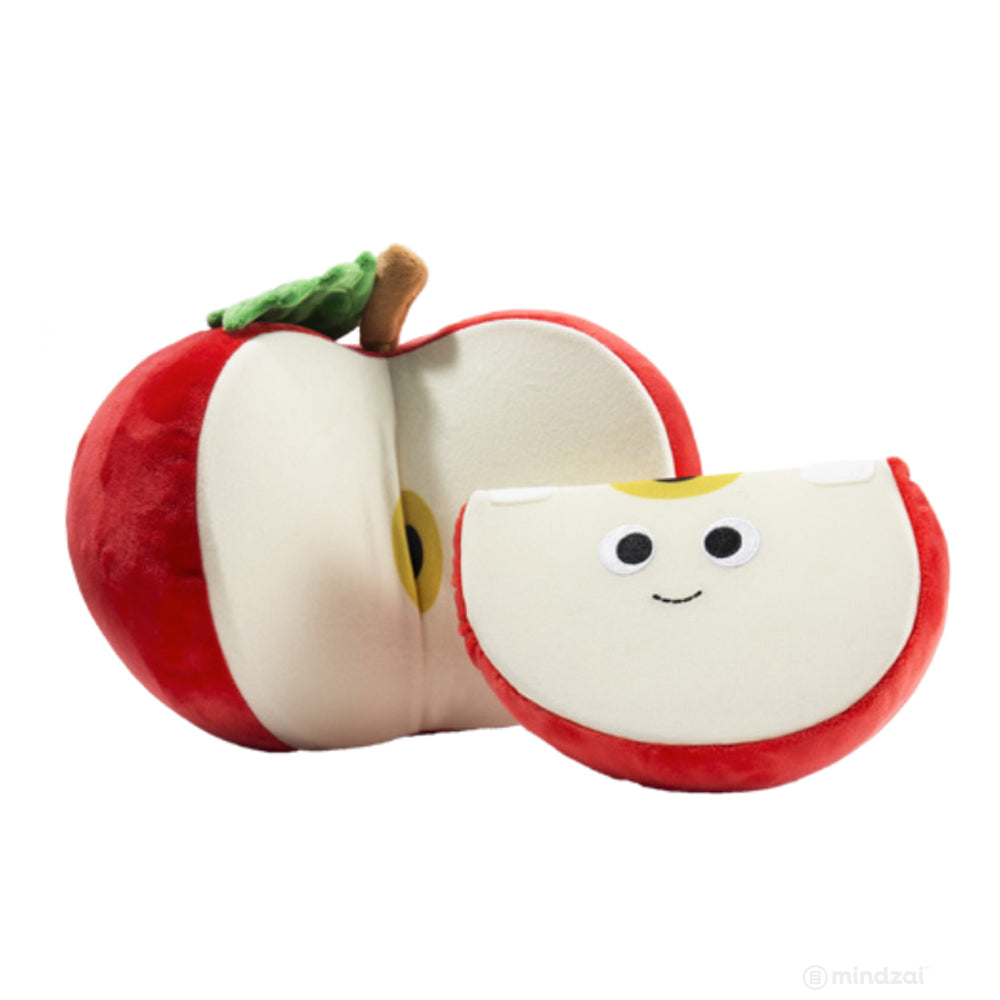 "Yummy Ally and Sally Red Apple Medium 10"" Plush - Pre-order"