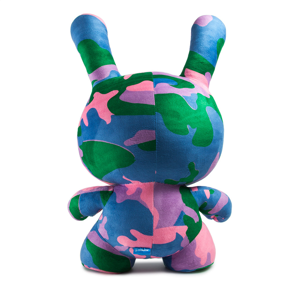 "Andy Warhol 20"" Camo Plush Dunny by Kidrobot - Pre-Order"