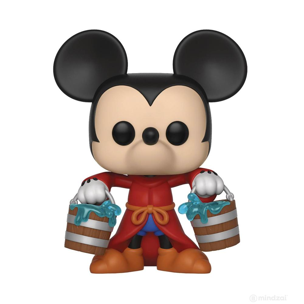 Disney Mickey 90th Apprentice Mickey Pop Vinyl Toy Figure by Funko