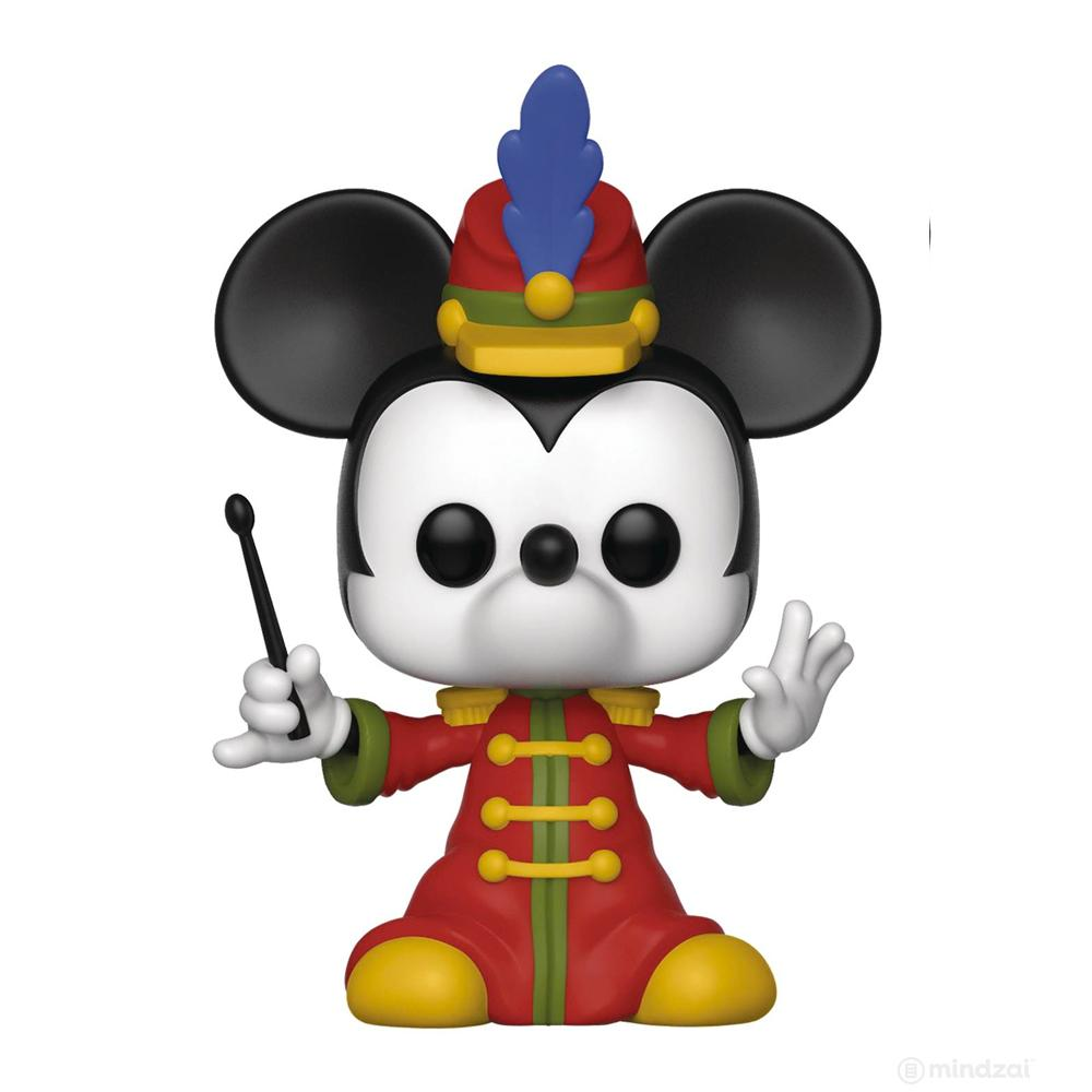 Disney Mickey 90th Band Concert Mickey Pop Vinyl Toy Figure by Funko