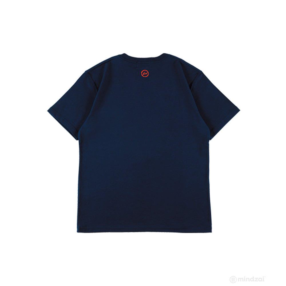 BE@RTEE fragmentdesign 2020 FRGMT T-Shirt [NAVY] by Medicom Toy