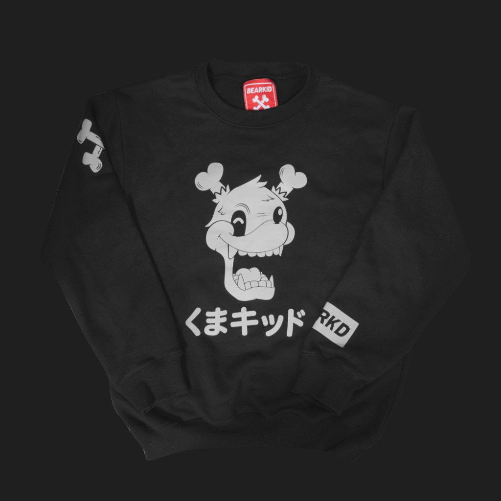 JPN Crewneck Sweater by Bear Kid - Mindzai