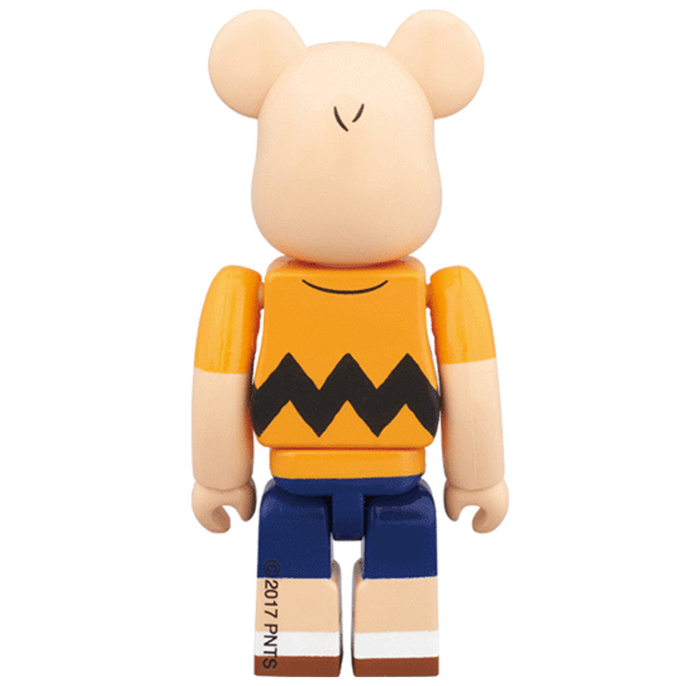 Charlie Brown Yellow Tee 100% Bearbrick - Pre-order