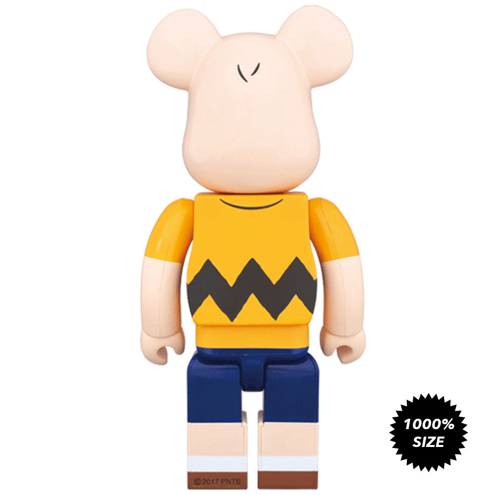 Charlie Brown Yellow Tee 1000% Bearbrick - Pre-order