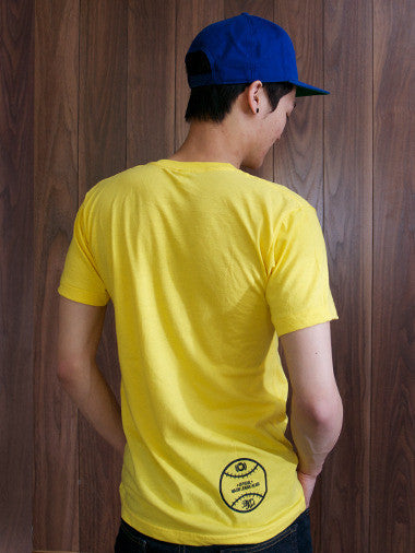 Bear Kid HVY HTTRS Yellow Men's T-Shirt - Mindzai  - 1