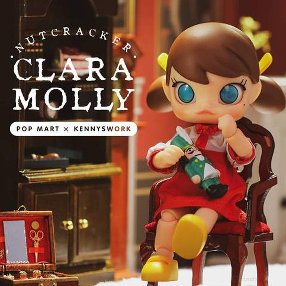 Nutcracker Clara Molly BJD Art Toy Figure by Kennyswork x POP MART