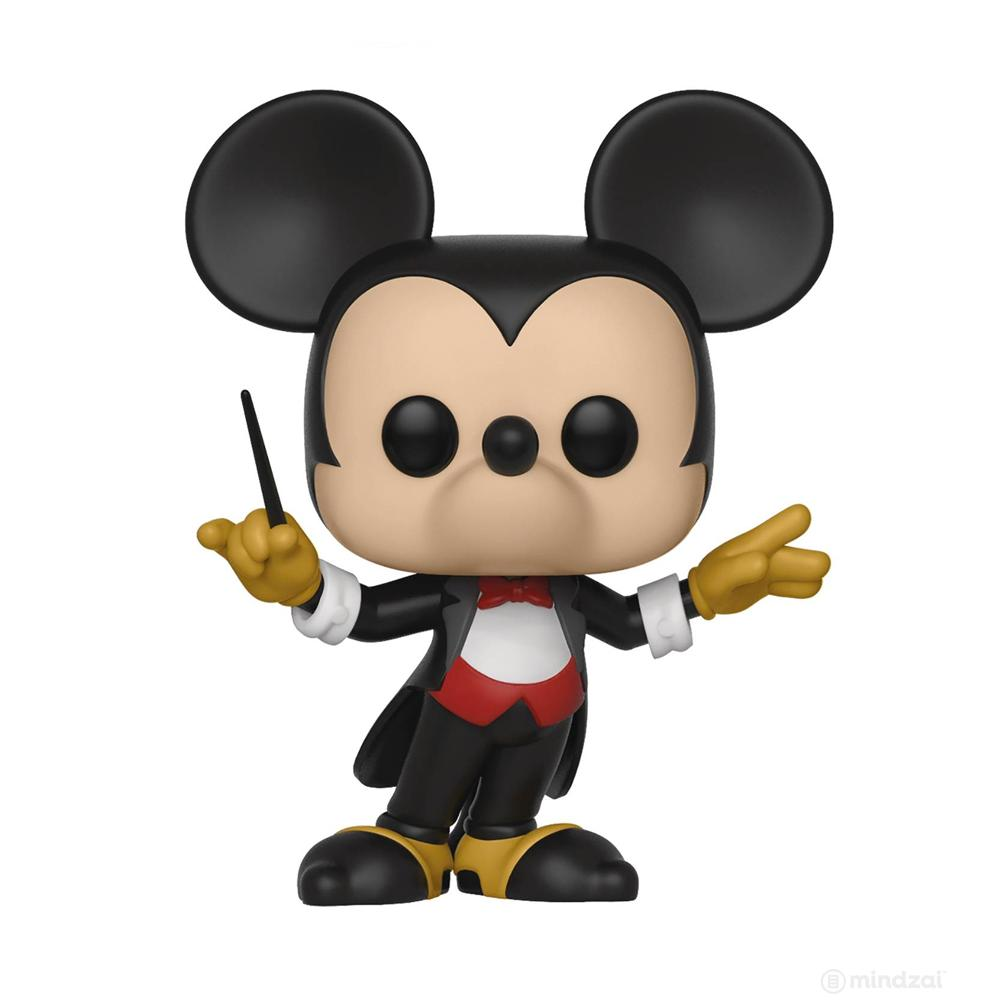 Disney Mickey 90th Conductor Mickey Pop Vinyl Toy Figure by Funko