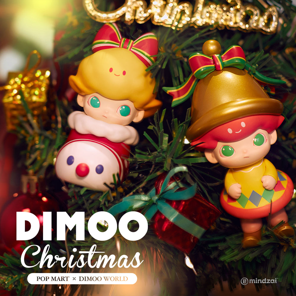 Dimoo Christmas Blind Box Series by POP MART