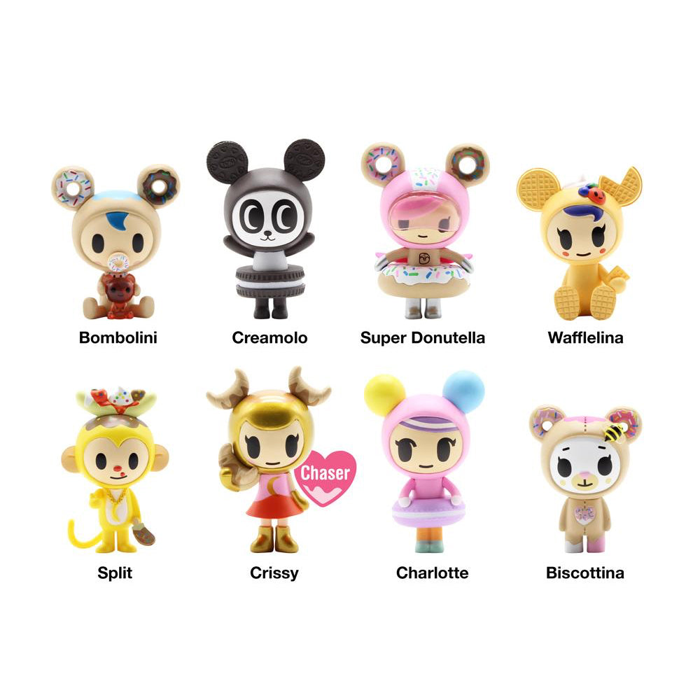 Donutella and her Sweet Friends Series 3 Blind Box by Tokidoki