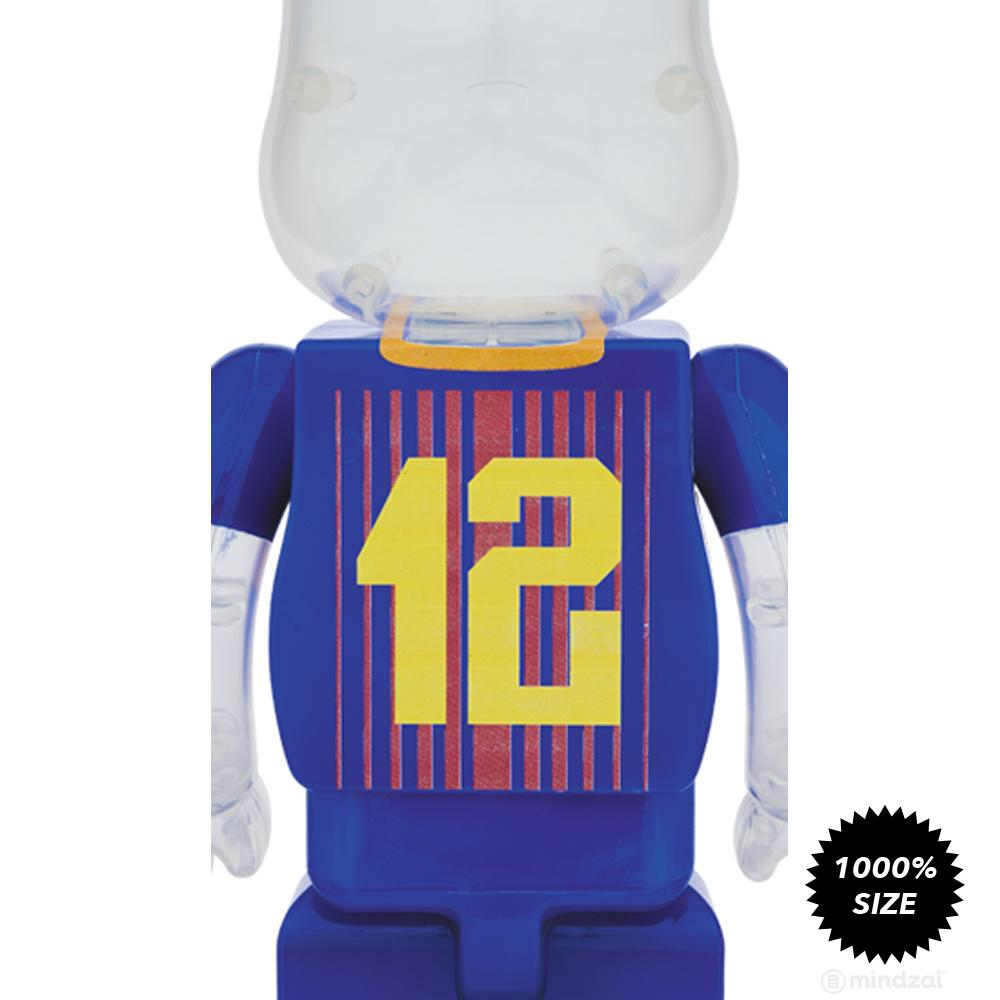 FC Barcelona 1000% Bearbrick by Medicom Toy