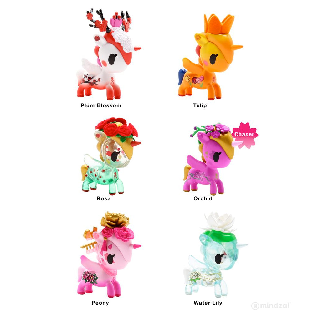 Unicorno Flower Power Blind Box Series by Tokidoki