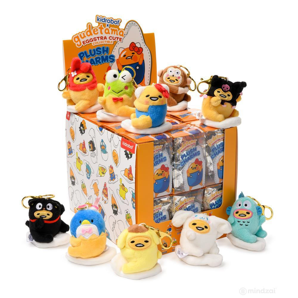 Gudetama Blind Box Plush Charms by Sanrio x Kidrobot