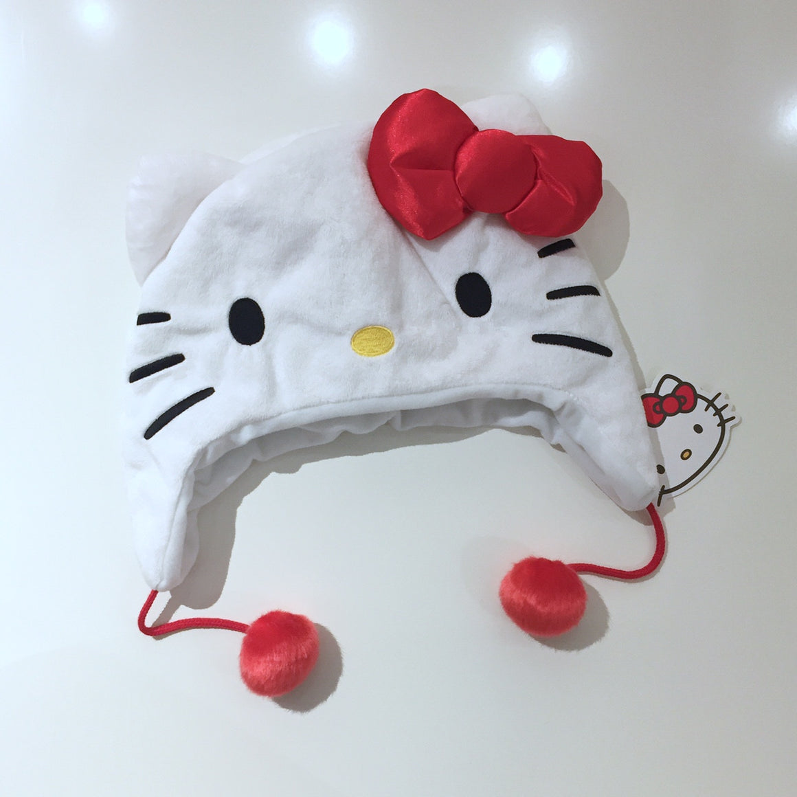 Hello Kitty Plush Hat - Mindzai