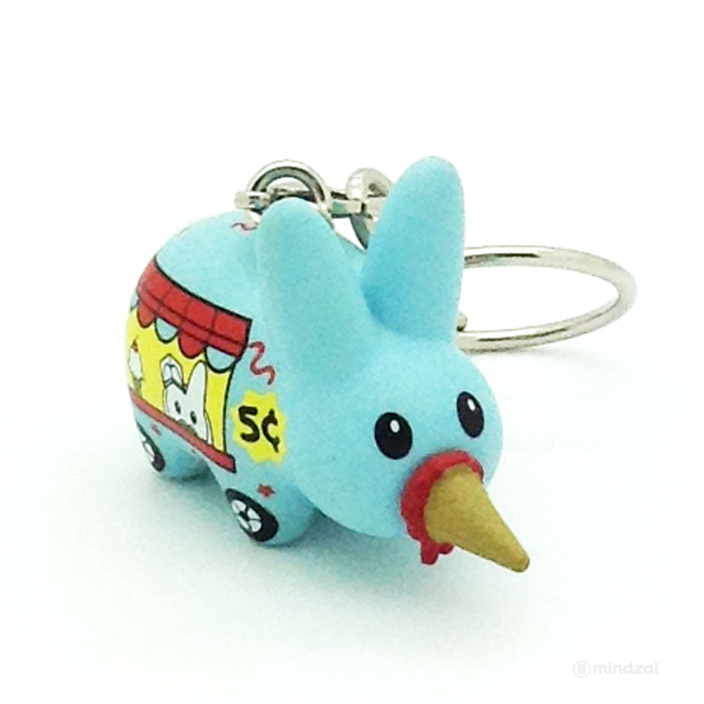 Bite Sized Labbit Mini Series - Ice Cream Truck Keychain