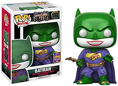 Suicide Squad: Batman Joker POP! Vinyl Figure by Funko (2017 SDCC Summer Convention Exclusive)