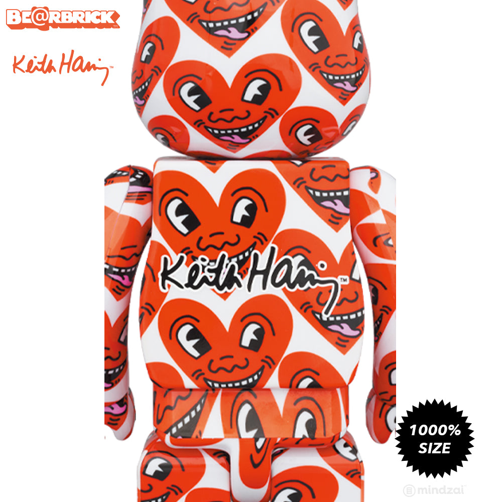 *Pre-order* Keith Haring #6 1000% Bearbrick by Medicom Toy