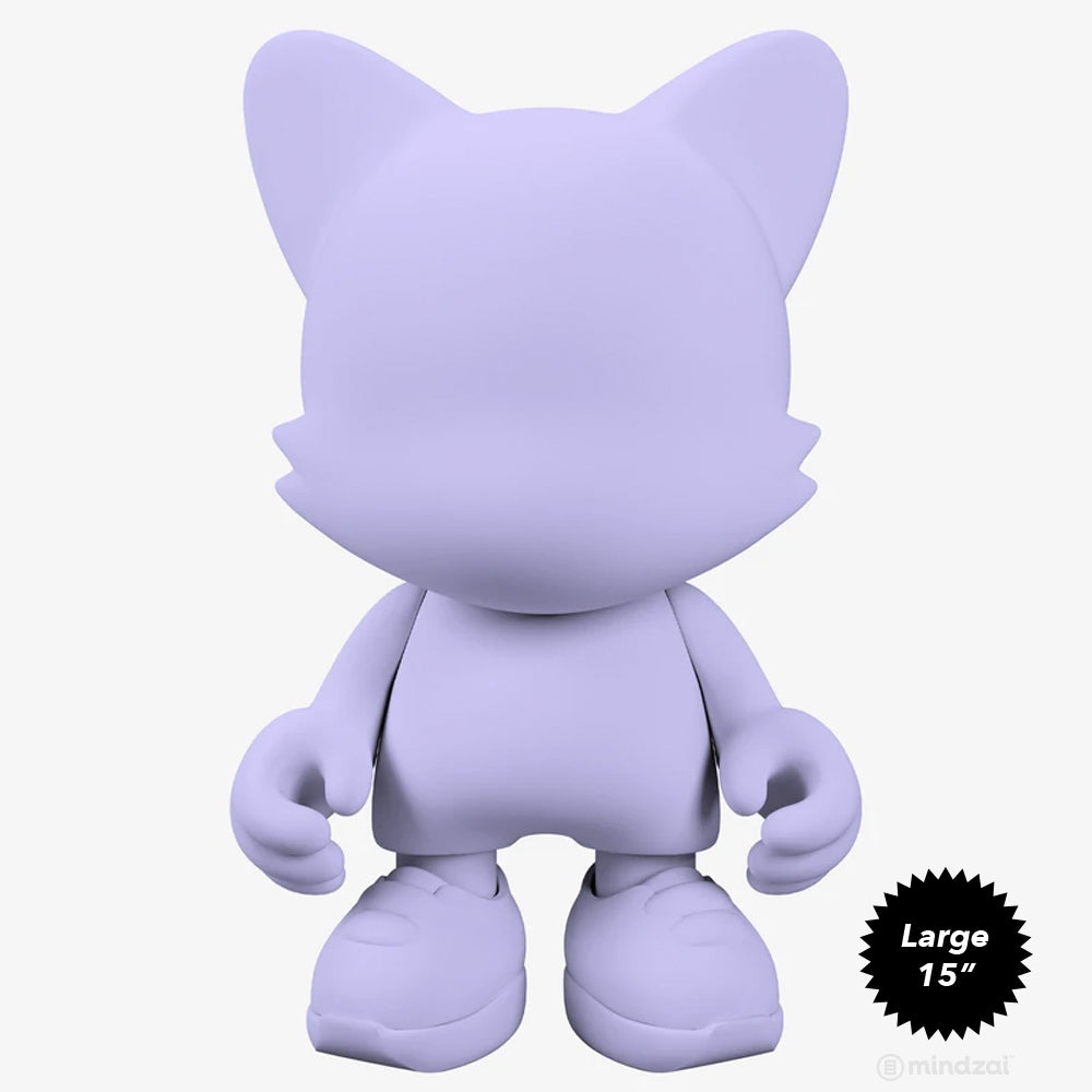 Lavender 15-INCH UberJanky Toy by Superplastic