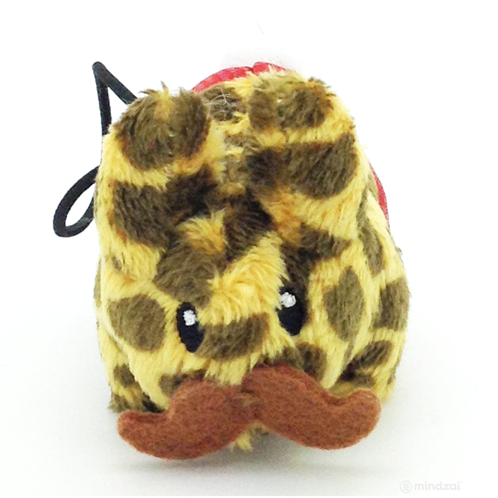 "Happy Labbit Plush ""Cute N' Crazy"" Mini Series - Leopard"