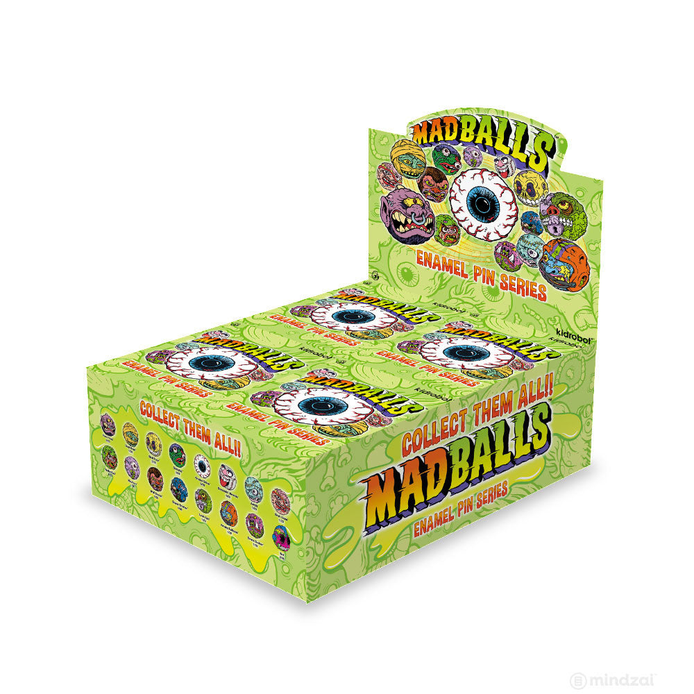 Mad Balls Enamel Pin Blindbox Series by Kidrobot
